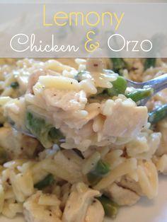 Lemon Chicken Orzo