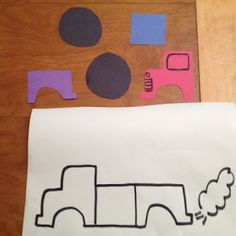 Monster Truck Puzzle and Craft