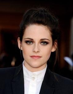 eye makeup actresses, smoulder eye, beauti, kristenstewart