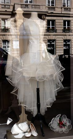 paris shop window ~ lèche vitrine is the french expression for window shopping ~ literally, it means window licking