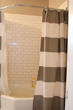 Stripe Shower Curtain