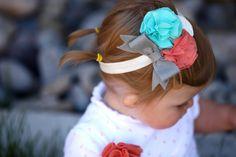 Cute Little Girls Headbands @Adornmegirl Etsy Store!