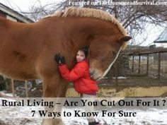 Rural Living – Are You Cut Out For It? 7 Ways to Know For Sure.