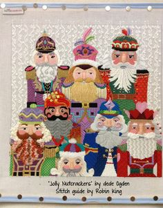 nutcracker needlepoint