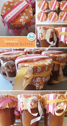 Blue Sky Confections: Peach Butter & Pretty Packaging
