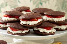 Chocolate-Strawberry Shortcake Whoopie Pies recipe