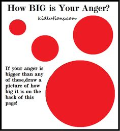 FREE Printable and tips on helping kids deal with anger!