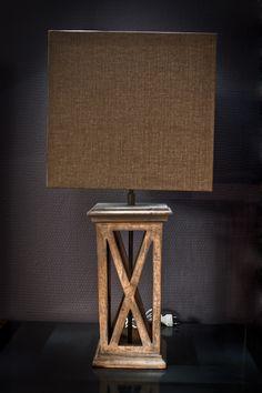 Houten lamp Seasons €139