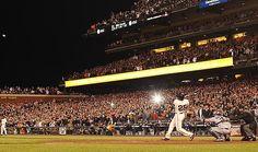 Barry Bonds broke Hank Aaron's home run record five years ago today.  8/7/12