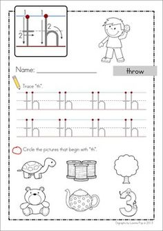 ... Digraph 20 Games-Activities-Worksheets. Handwriting and Beginning