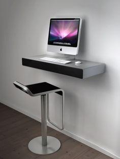 """""""iDesk, an Office Desk for iMac #furniture"""""""