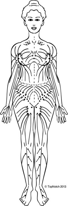 vodder technique of manual lymphatic drainage