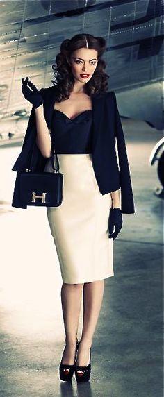 Hermes- retro glam