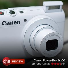 The Canon PowerShot N100 packs a larger-than-usual sensor and a lens that starts at a bright f1.8 aperture, a combination that gets you better photo quality in low-light conditions than you'd get from a typical point-and-shoot.
