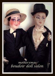 boudoir doll. French men