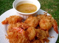 Coconut Beer Shrimp With Sweet and Tangy Sauce Recipe | Just A Pinch Recipes