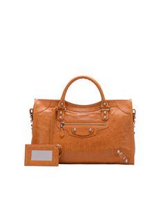 Balenciaga Giant 12 Nickel City Bag, Tangerine