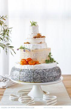 Cheese Wedding Cake - love