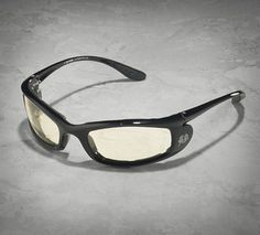 No need to bring two pairs of riding glasses with you on your next road trip. These glasses feature lenses that change from light to dark when exposed to sunlight so you can keep riding all day and all night. | Harley-Davidson Ladyrider Day-Night Performance Glasses