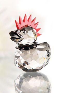 Swarovski Punk Duck