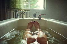 I plan to take more relaxing baths this year