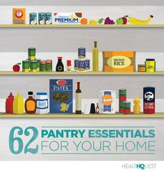 Do you have all of these healthy pantry essentials? #nutrition