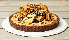 PB Honeycomb Pie