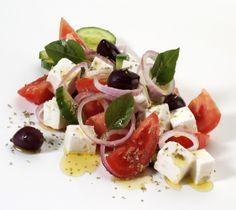 Dad's Greek Salad | Yummy addictions | Pinterest