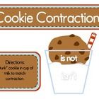 Cookies and Milk Contractions Match