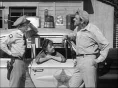 Barney, Thelma Lou, and Gomer.