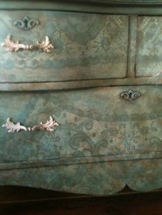 Provence and Old White Chalk Paint™ by Annie Sloan