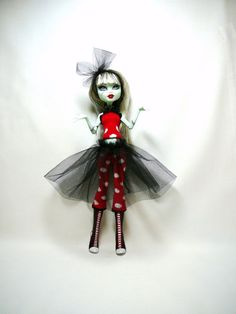 Monster High Doll Clothes  Tutu Much Top & by mizzfitzdolls, $12.00