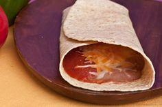 Bean Burritos w/ mild sauce