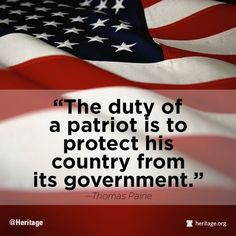 The duty of a patriot