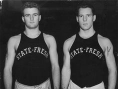 MSU Wrestlers, undated by Michigan State University Archives, via Flickr