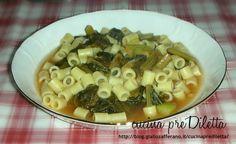 Pasta e verdura, ricetta primo piatto vegetariano