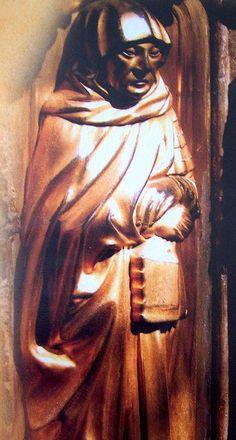 Tomb effigy of Richard Neville (Warwick the Kingmaker); Earl of Warwick; father of Anne Neville, Richard III's queen