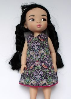 Liberty of London Dolls Dress for doll by TheDollsWardrobe on Etsy, £12.00