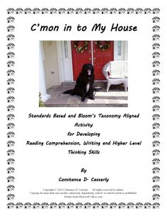 "In Part 1 of this product, ""Language Arts Activity – C'mon in to My House,"" students will relate the details of one situation that took place in a home where they have lived. In Part 2, students will follow the same directions, but this time, with a character from a story. Read More: http://teachitwrite.blogspot.com/2014/02/language-arts-activity-cmon-in-to-my.html Download this lesson from http://www.teacherspayteachers.com/Product/Language-Arts-Activity-Cmon-in-to-My-House-1107073"