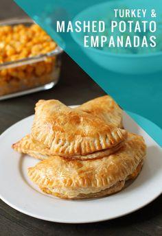 Turkey and Mashed Potato Empanadas