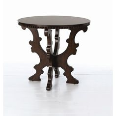 ARTERIORS Home Beckley Side Table in Distressed Brown
