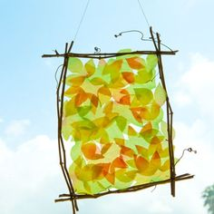 The Odd Life of Timothy Green Leaf Frame Craft