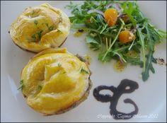 Mini Mushroom Pies #vegan