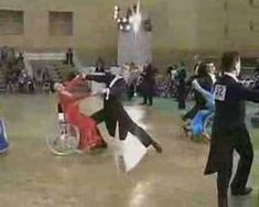 ▶ Wheelchair Dance Competion - Wheelchair dancing is an activity that integrates the wheelchair user and a nondisabled person. It is an increasingly popular physical activity; and has become an official sport pursued by people with disabilities in 40 countries.