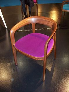 I'm kind of obsessed with these chairs by Bernhardt. If only they weren't $1000+ each.