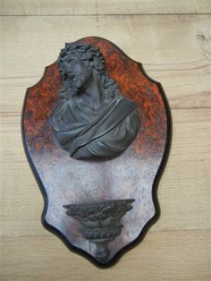 French 19th century benitier (Holy water font)