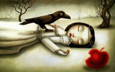 Snow White illustrated by Benjamin Lacombe
