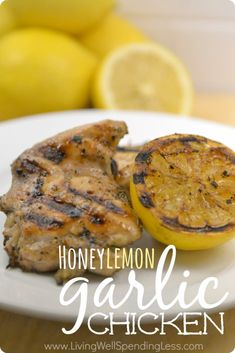 Easy Honey Lemon Garlic Chicken | Best Grilled Chicken Recipe