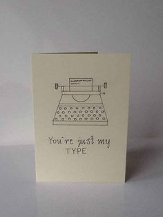 An obsolete yet still strangely popular writing instrument. | 30 Punny Valentines For Everyone You Love