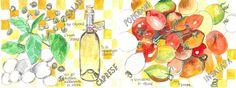 Salad Caprese<span class='title_artist'> by Dorine van der Vloodt</span>